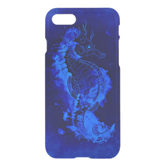 Blue Seahorse Painting iPhone 8/7 Case