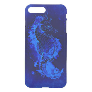 Blue Seahorse Painting iPhone 8 Plus/7 Plus Case