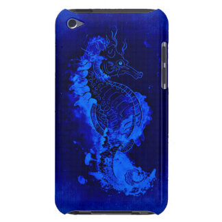 Blue Seahorse Painting iPod Touch Case