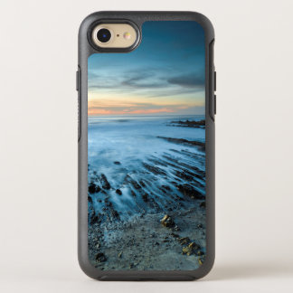 Blue seascape at sunset, California OtterBox Symmetry iPhone 7 Case