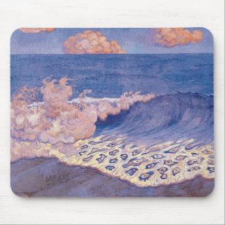 Blue seascape, Wave Effect, c.1893 Mousepads