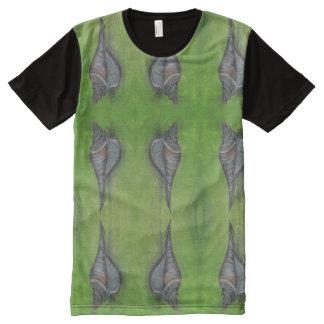 blue seashell t-shit mens All-Over-Print T-Shirt