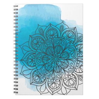 Blue send it notebook