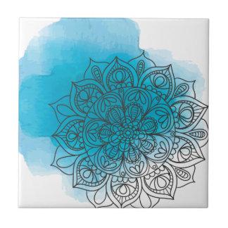 Blue send it tile
