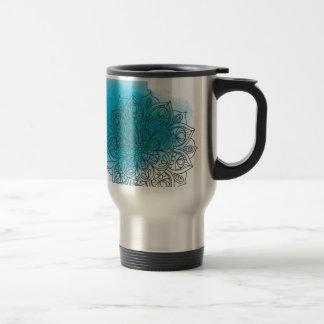 Blue send it travel mug