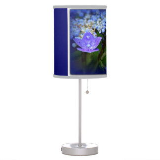 Blue Shade Lamp