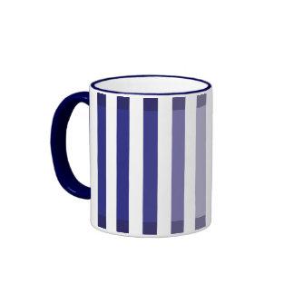 Blue Shades Ringer Mug