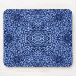 Blue Shag Persian Rug Mouse Pad