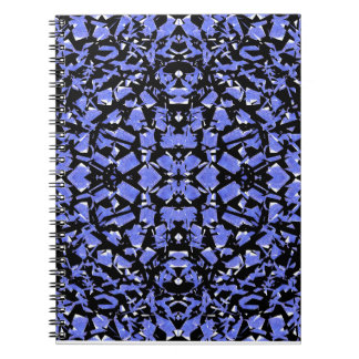 Blue Shapes Notebook