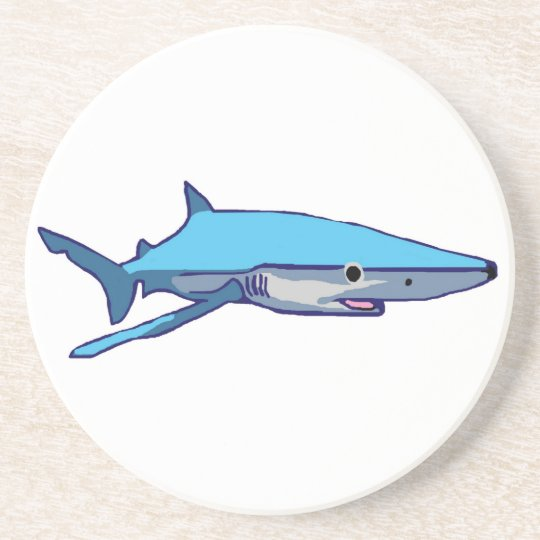 Blue-Shark coaster