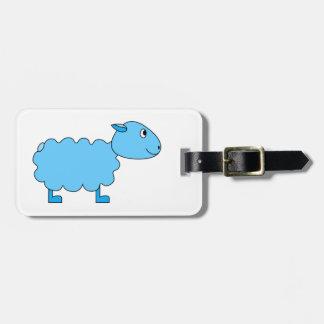 Blue Sheep. Luggage Tag