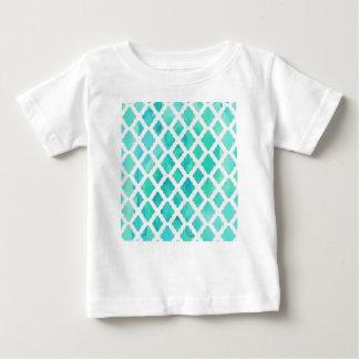 Blue Shell Pattern Baby T-Shirt