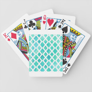 Blue Shell Pattern Bicycle Playing Cards