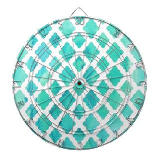Blue Shell Pattern Dartboard