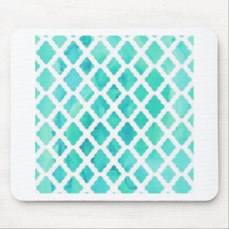 Blue Shell Pattern Mouse Pad
