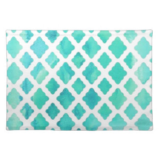 Blue Shell Pattern Placemat