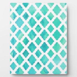 Blue Shell Pattern Plaque