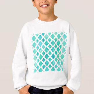 Blue Shell Pattern Sweatshirt