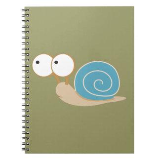 Blue Shelled Snail Notebooks