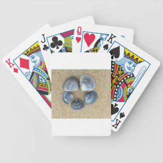 Blue shells bicycle playing cards