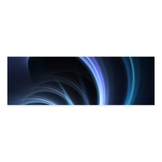 Blue Shining Solar Fractal Starburst Business Card Templates