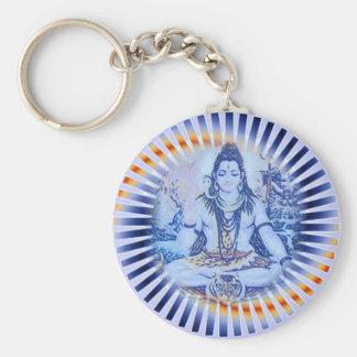 Blue Shiva Keychain