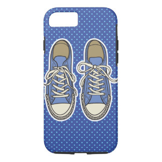 Blue Shoes Iphone Case
