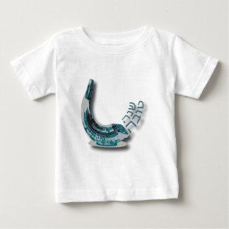 Blue Shofer Shana Tova Baby T-Shirt
