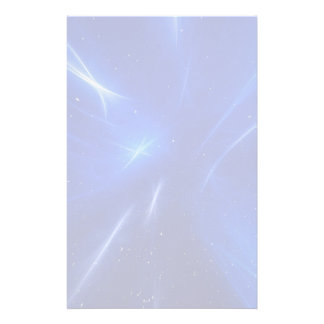 Blue Shooting Stars Personalized Stationery
