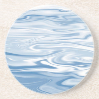 Blue Silk Coaster