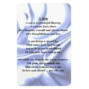 Poem For A Son Refrigerator Magnets