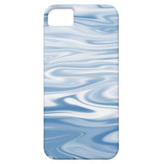 Blue Silk iPhone 5 Cover