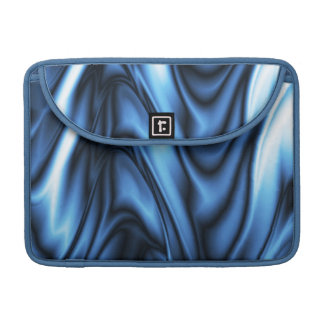 Blue Silk Sleeve For MacBook Pro