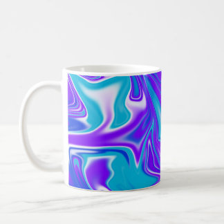 Blue_Silky_Liquid_Sky,_ Coffee Mug