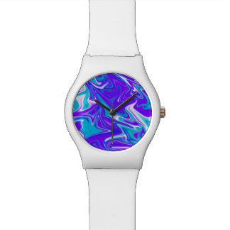 Blue Silky Marbleized Sky, Watch