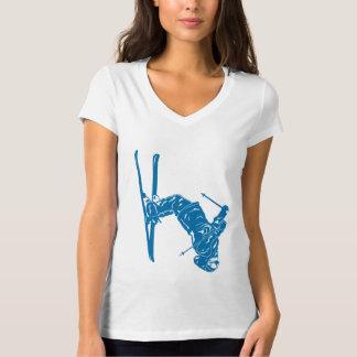 Blue-Skier T-Shirt