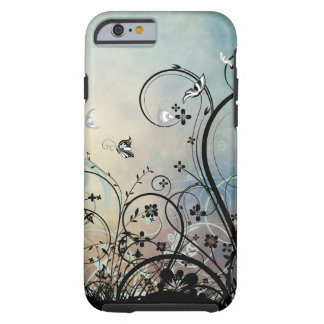 Blue Skies & Butterflies iPhone 6 case