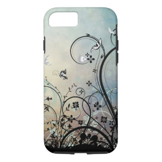 Blue Skies & Butterflies iPhone 7 case