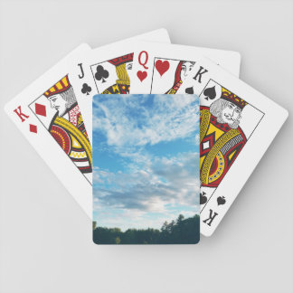 Blue Skies in Boothbay Theme Classic Playing Cards