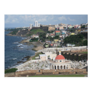 Blue Skies over San Juan, Puerto Rico Postcard