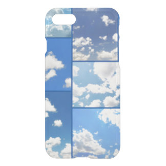 Blue Skies & White Clouds Collage iPhone 7 Case