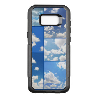 Blue Skies & White Clouds Collage OtterBox Commuter Samsung Galaxy S8+ Case