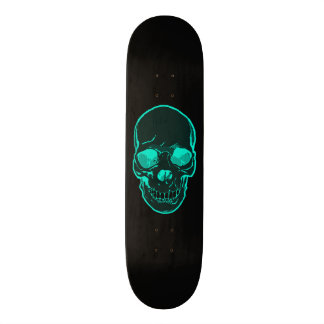 Blue Skull Graphics Skateboard for Boys & Girls