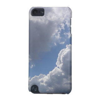 Blue Sky and Clouds Ipod Touch Case