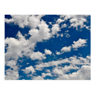 Blue Sky and Clouds Postcard