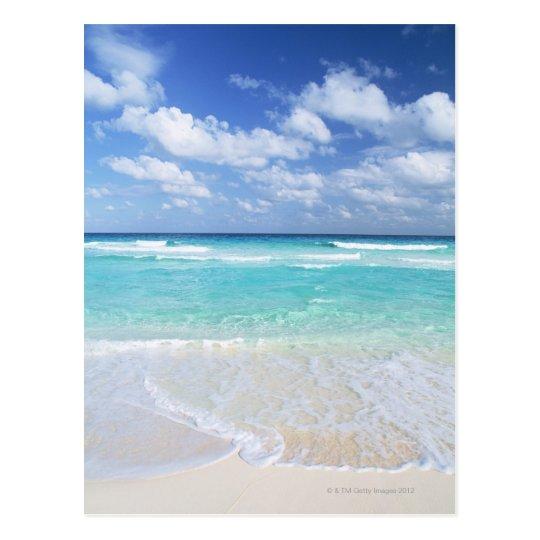 Blue sky and sea 13 postcard
