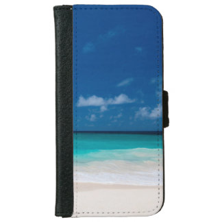 Blue sky and Turquoise Water iPhone 6 Wallet Case