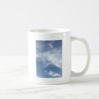 Blue Sky and  White Clouds Coffee Mug