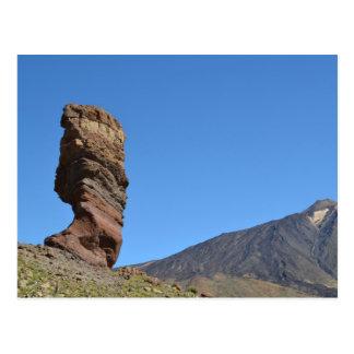 Blue sky at Mount Teide Postcard