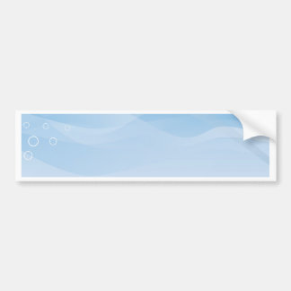 Blue Sky Background Bumper Sticker